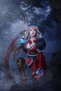 1280x2120 Fantasy Witch 4k