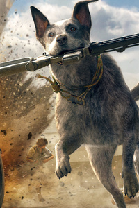 Far Cry 5 Australian Cattle Dog 5k