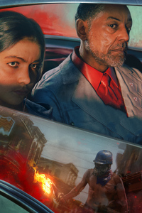 Far Cry 6 Villain Giancarlo Esposito 10k