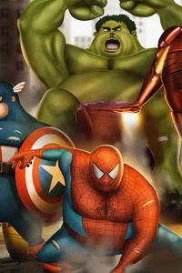 Fat Avengers