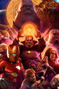 Fat Avengers Infinity War Heroes