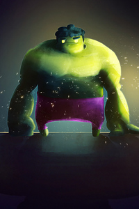 1280x2120 Fat Hulk