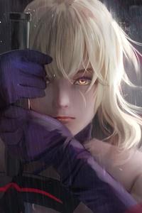 Fate Grand Order Sword Fantasy Girl 4k