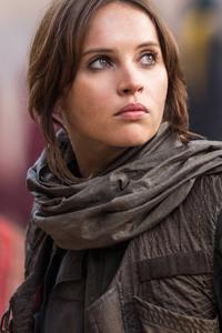 Felicity Jones As Jyn Erso In Rogue One Star Wars