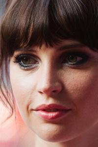 Felicity Jones Closeup