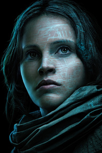 640x1136 Felicity Jones In Rogue One A Star Wars Story 4k