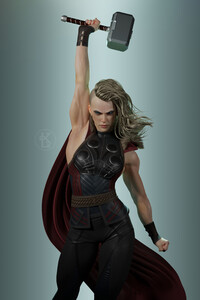 720x1280 Female Thor