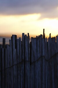 720x1280 Fence Sky Noon