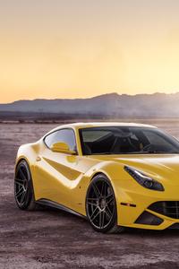 Ferrada Sema Yellow Ferrari F12 Front