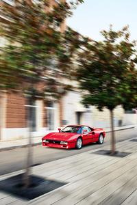 320x568 Ferrari 288 Gto Front 4k