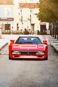 Ferrari 288 Gto In Red Front Look 4k