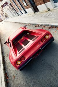 480x800 Ferrari 288 Gto Red 4k