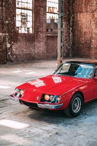Ferrari 3000 Convertible 4k