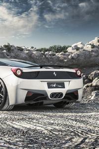 320x568 Ferrari 458 Italia 4k