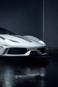 640x960 FERRARI 458 ITALIA 4k Car