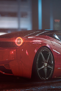 1242x2688 Ferrari 458 Italy 4k