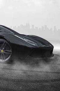 Ferrari 488 Black