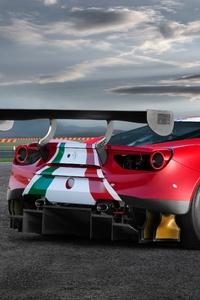 Ferrari 488 GT3 Evo Red 4k
