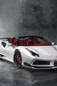 Ferrari 488 White 8k