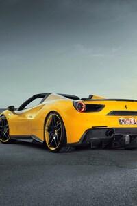 Ferrari 488 Yellow