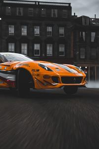 320x480 Ferrari 599 Forza Horizon 4 4k