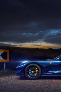 480x800 Ferrari 812 GTS 2021 8k