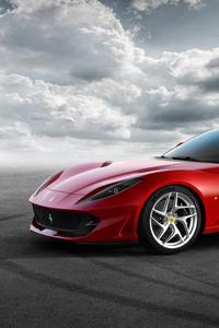 480x800 Ferrari 812 Superfast 2018 5k
