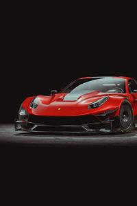 1080x2160 Ferrari F12tdf 4k Car