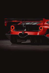 1080x2160 Ferrari F12tdf 4k Car Rear