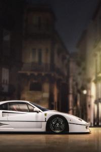 1125x2436 Ferrari F40 4k