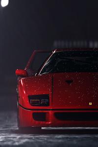 1125x2436 Ferrari F40 In Need For Speed