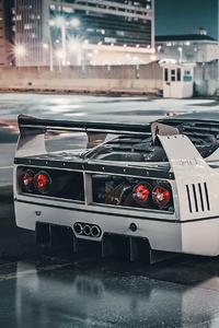1125x2436 Ferrari F40 Lm 4k