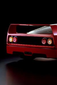 1125x2436 Ferrari F40 Prototipo