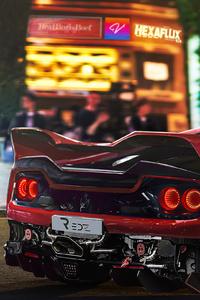640x1136 Ferrari F50 Cgi 4k