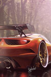 Ferrari Italia Art Design