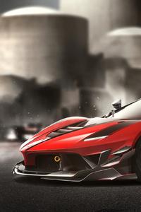 480x854 Ferrari LaFerrari FXXK