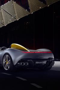 320x568 Ferrari Monza SP1 2018 Rear