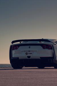 Ferrari Rear View 5k
