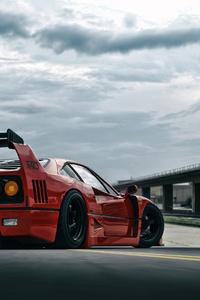 Ferrari Red 4k