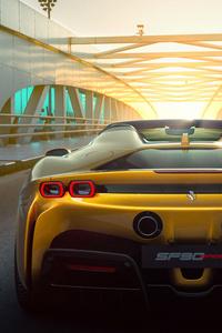480x800 Ferrari SF90 Spider 10k