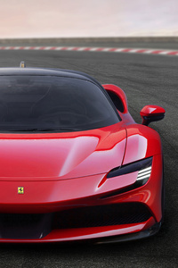 Ferrari SF90 Stradale Assetto Fiorano 2019 Front View