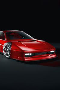 1080x2280 Ferrari Testarossa 1984 5k