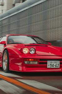 1242x2688 Ferrari Testarossa 5k