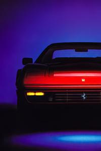 540x960 Ferrari Testarossa Italian Car 5k