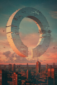 Fictional Artwork Building City