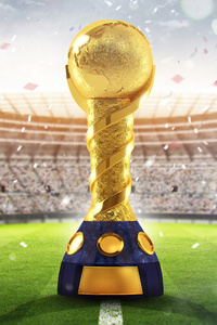 2160x3840 FIFA World Cup Russia 2018 Trophy
