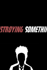 320x480 Fight Club Typography