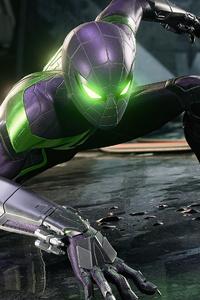 1440x2960 Fighting Stance Marvels Spider Man Miles Morales 4k