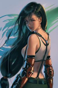 640x960 Final Fantasy Tifa 4k