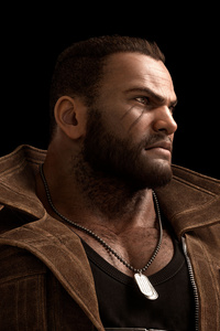 Final Fantasy VII Remake 2019 Barret 8k